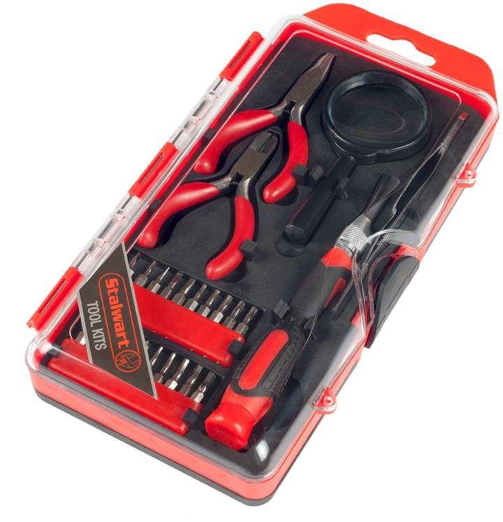 Stalwart Precision Electronics, Repair & Hobby 25-piece Tool Set