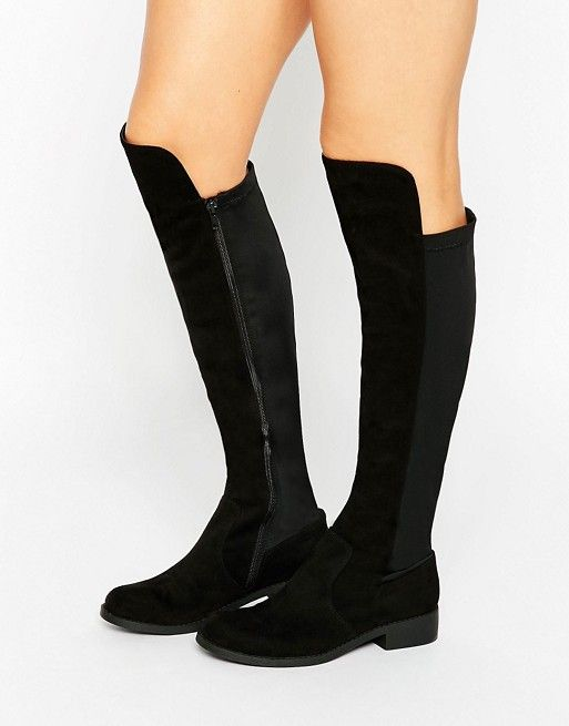 b42c49adbce CONNOR Stretch Knee High Boots