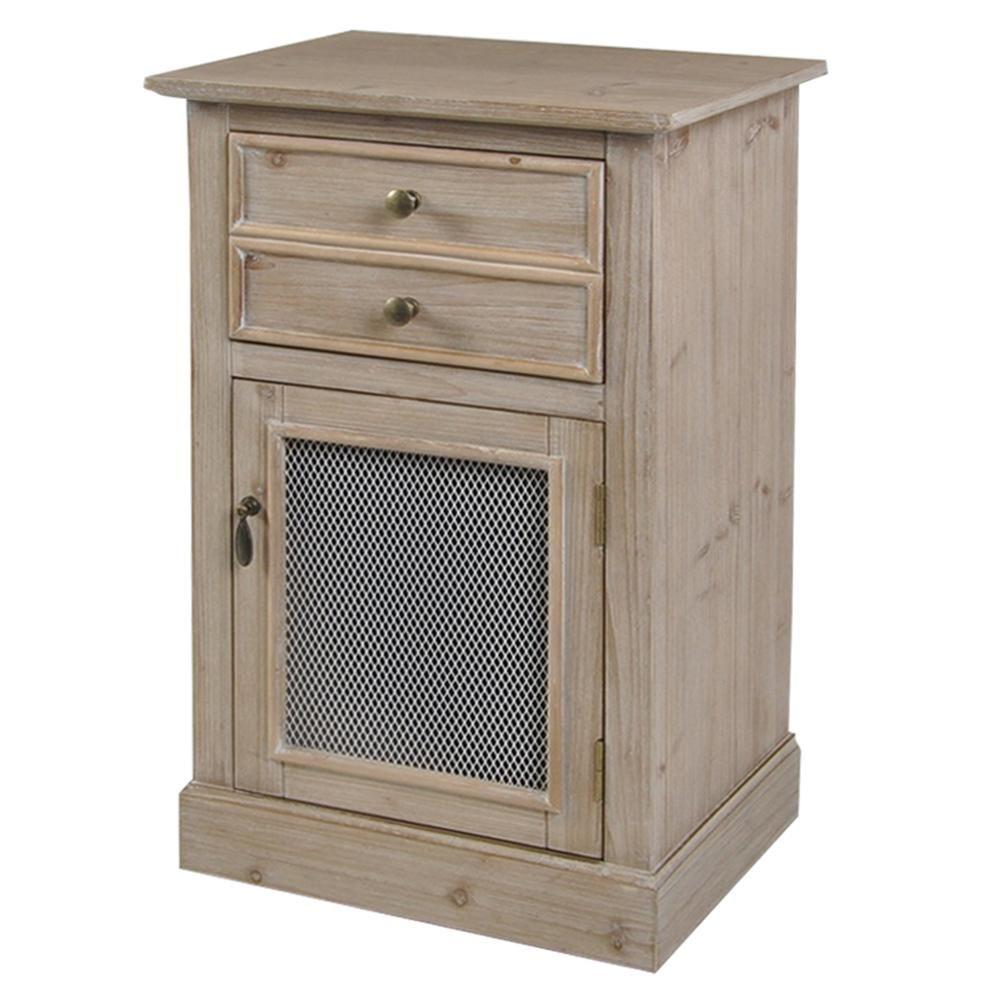 Light Pine Kitchen Cabinets: StyleCraft Light Pine 1-Drawer And Door Wood Cabinet
