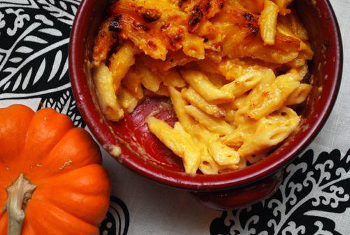 pumpkin macaroni & cheese