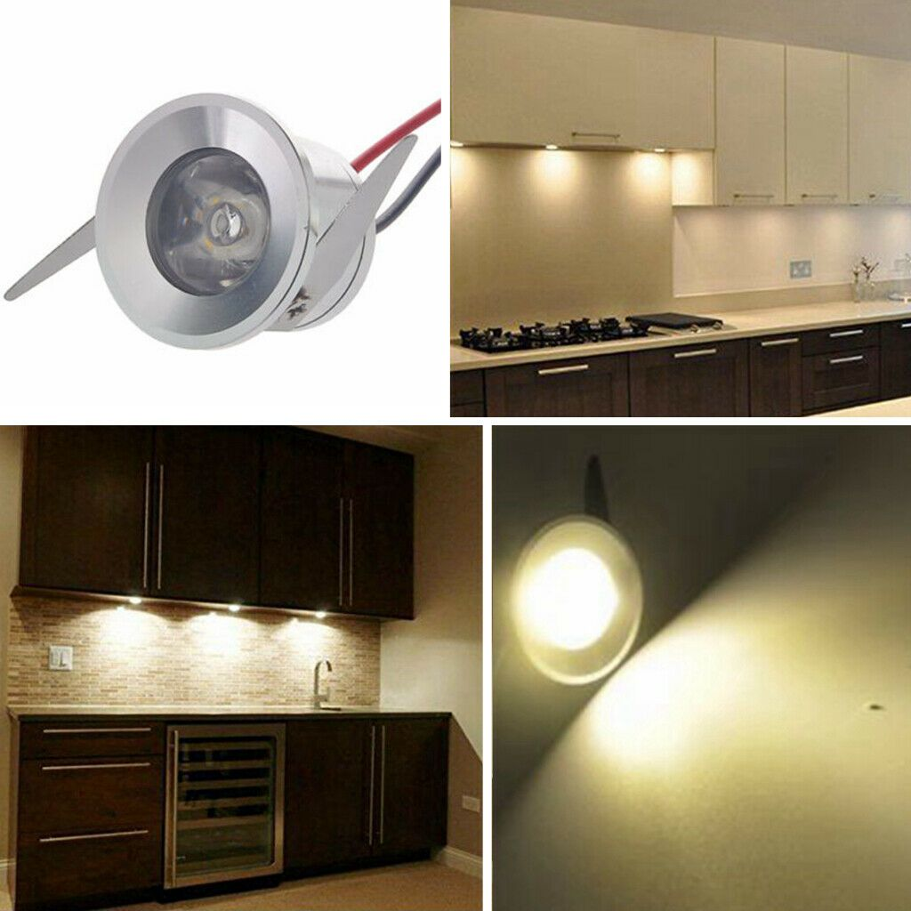 10x 1w Led Mini Spot Lampe Eclairage Meuble Cuisine Minispot Encastre Plafond Ebay Recessed Ceiling Lights Wall Lights Recessed Downlights