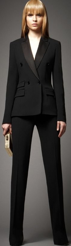 @roressclothes clothing ideas #women fashion black suit