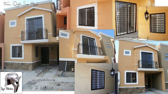 Protectores para ventanas y puertas fracc quinta san - Proteccion para casas ...