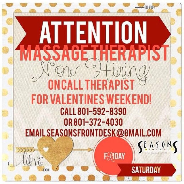 Share the love! It's this time of year again! We are looking to build our team stronger this Valentines Day! On Call Massage Therapist the week of Valentines!! #joinourteam #nowhiring @massagetherapist #Padgram