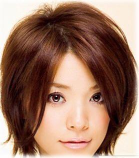 Short Asymmetrical Bob Haircut For Round Face Google Search Round Face Haircuts Short Hair Styles For Round Faces Asian Short Hair
