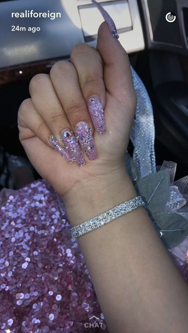 60 Cute Acrylic Nails Designs for Summer 2018   Pinterest ...