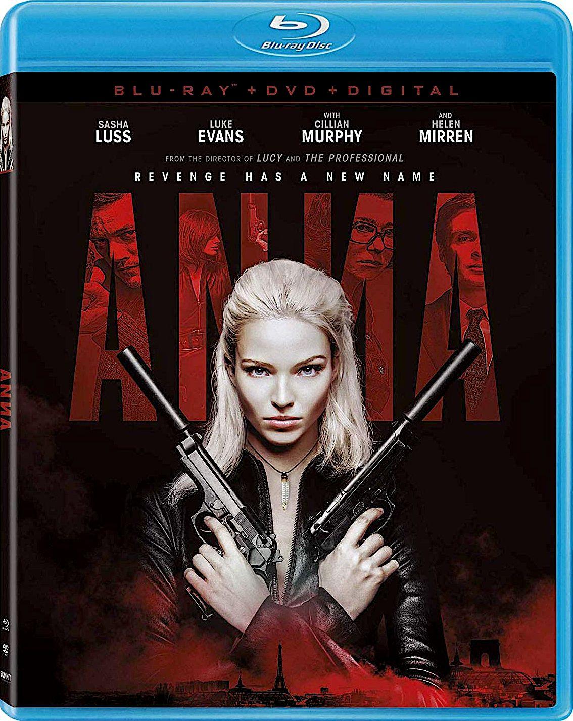 ANNA BLURAY (LIONSGATE) Blu ray, Thriller video, Blu