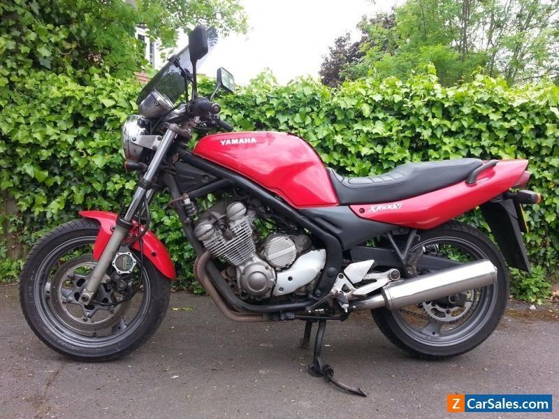 YAMAHA XJ600N 600cc 1997 motorbike MOT Base for Cafe racer