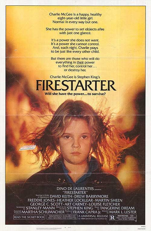 Movies From The 70S   Firestarter movie posters a…  