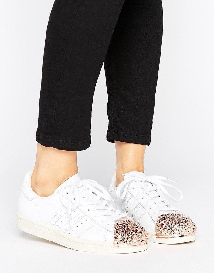Adidas adidas Originals White Superstar 80S Sneakers With ...