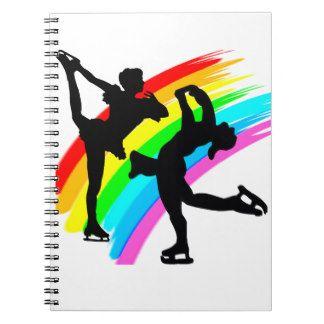 FIGURE SKATING QUEEN NOTEBOOK http://www.zazzle.com/mysportsstar/gifts?cg=196621838645756107&rf=238246180177746410 #figureskating #Figureskater #Figureskatinggifts #BorntoSkate #Loveskating