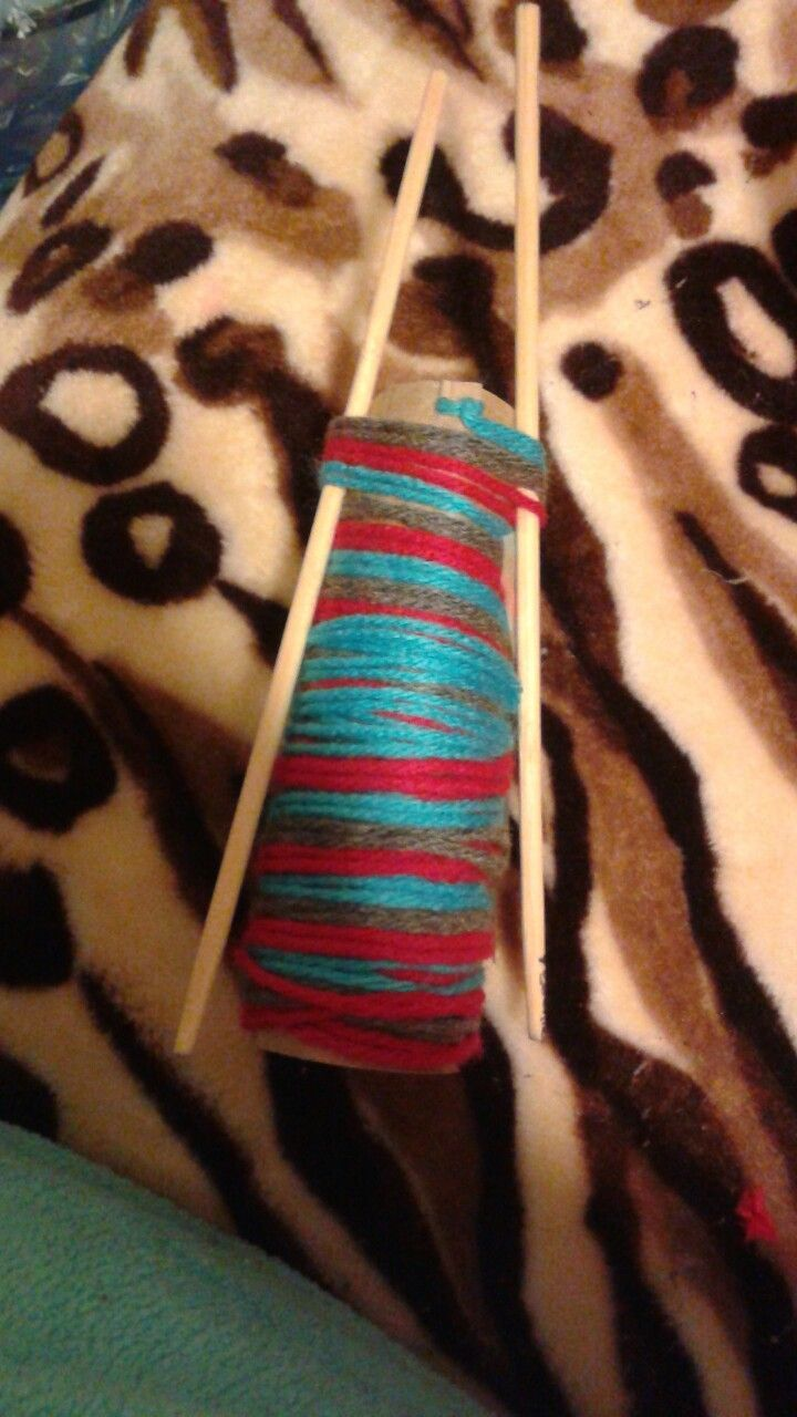 DIY Yarn holder #diyyarnholder DIY Yarn holder #diyyarnholder