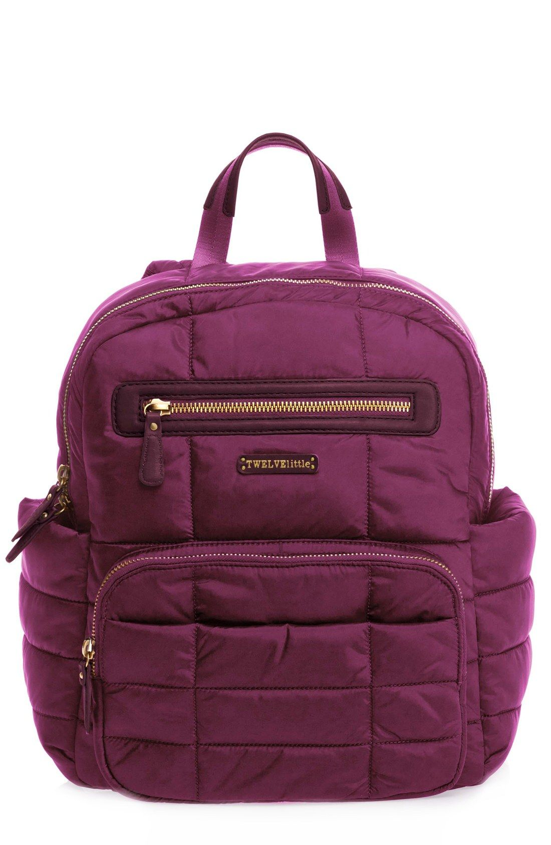 Companion Backpack Quilted Nylon Diaper Bag- Fenix Toulouse Handball 7410dfe566089