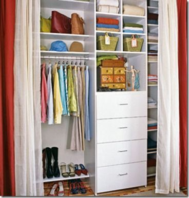 1000+ images about Curtains in closets on Pinterest | Photo kids ...
