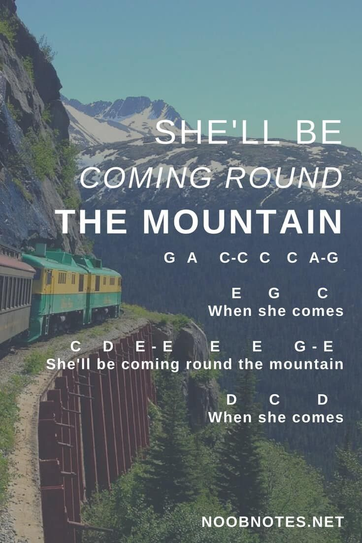 She Ll Be Comin Round The Mountain Traditional Clarinet Music