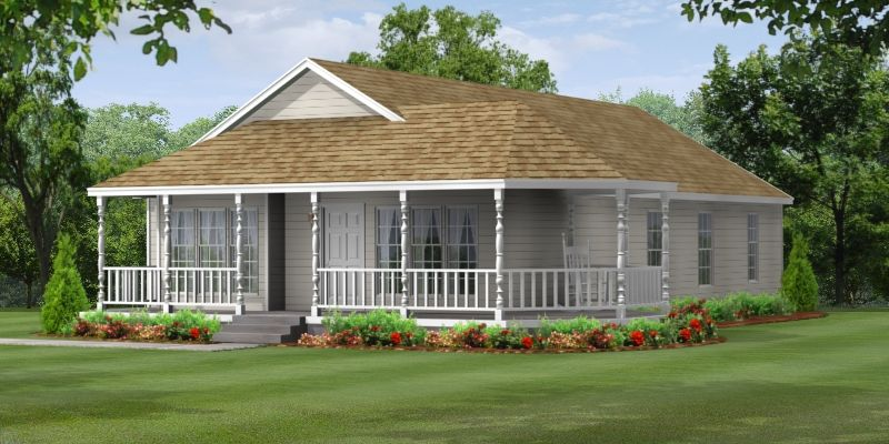 The ranch home is one of the most popular and practical styles in housing today. The ranch offers the convenience of all living space on the same level and can be adapted to both a crawl space or full foundation. The exterior of this home can be smartly dressed with the addition of offsets, porch …