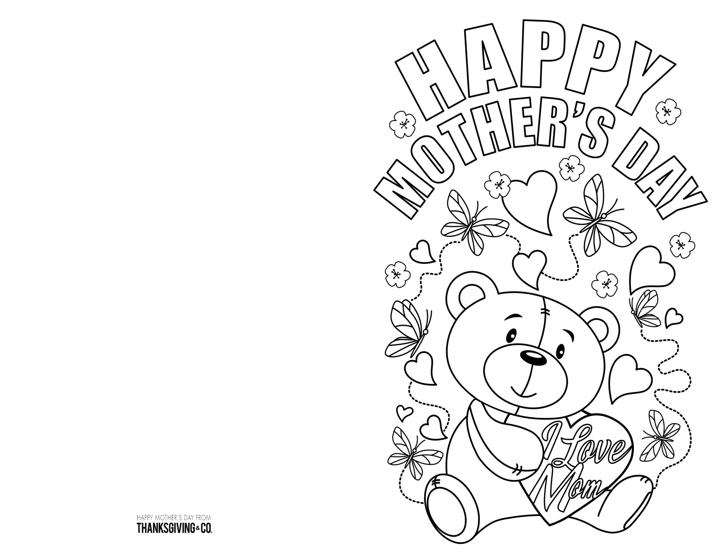 Printable Pictures To Color For Mother S Day Google Search Mothers Day Card Template Mothers Day Coloring Pages Happy Mother S Day Card