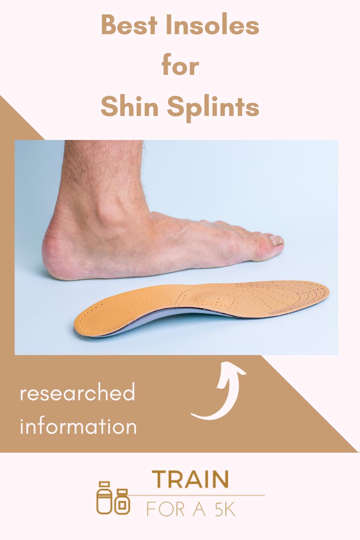 running insoles for shin splints