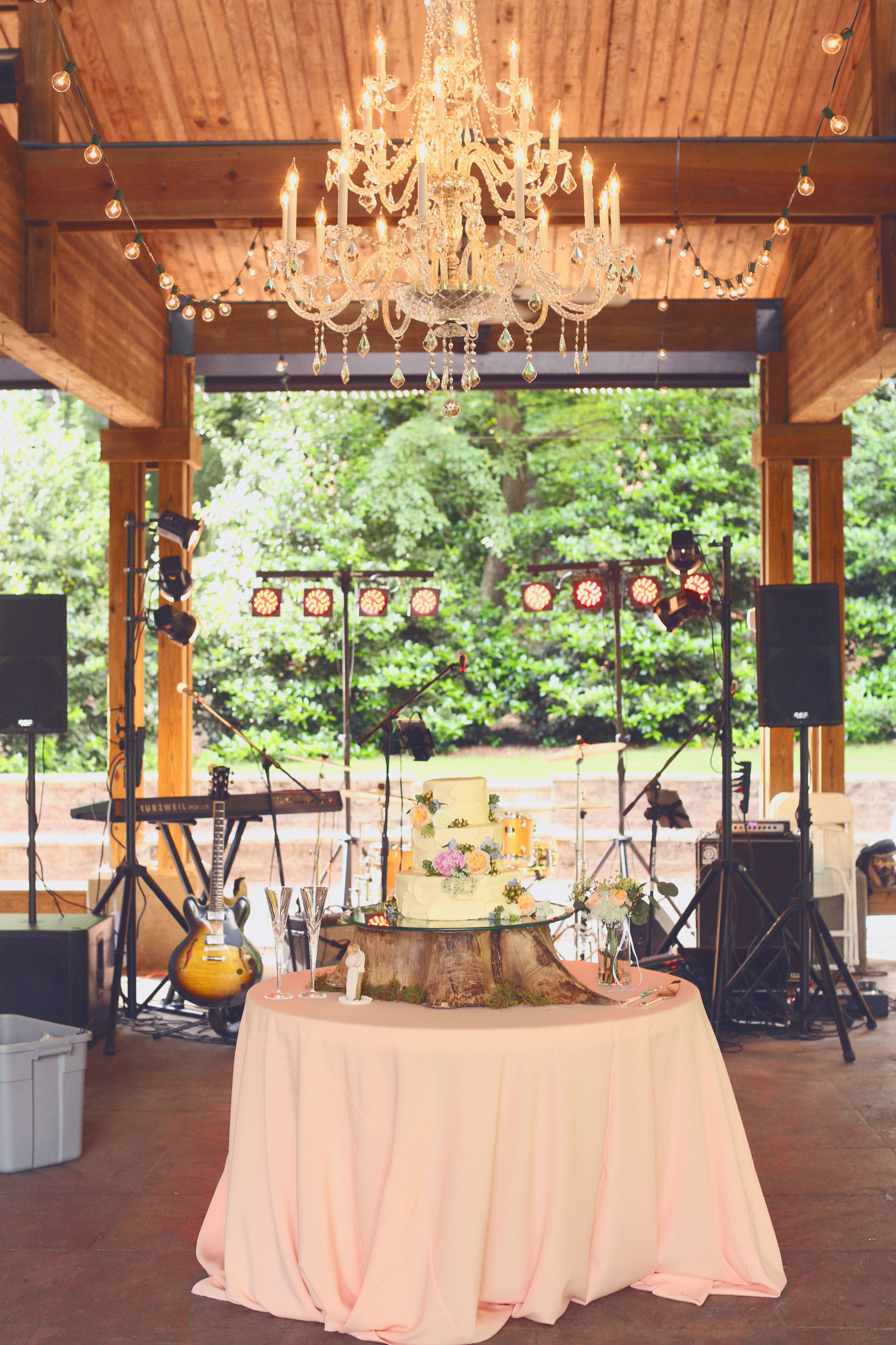 Beautiful Reception Under The Aldridge Gardens Pavilion 5 17 15 J