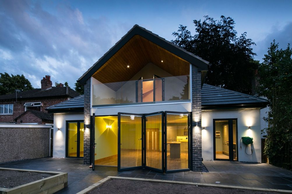 2 Storey Gable Roof Modern Zinc   Google Search