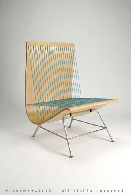 Find This Pin And More On Furniture + Objects By Mikafutz. Front View Side  View String Chairs ...