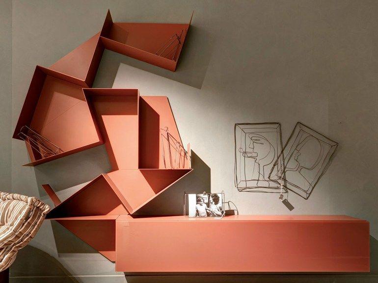 Photo of SLIDE | Storage wall By Lago design Daniele Lago
