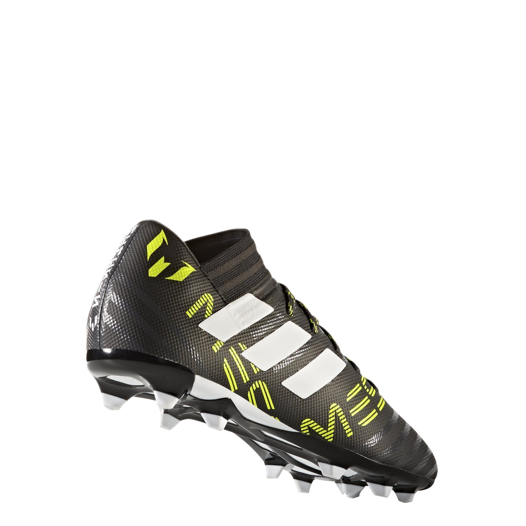 5356bfe4802a adidas Mens Nemeziz Messi 17.3 Firm Ground Cleats Soccer Shoe Black White Solar  Yellow 10 M US   Check out the image by visiting the link.