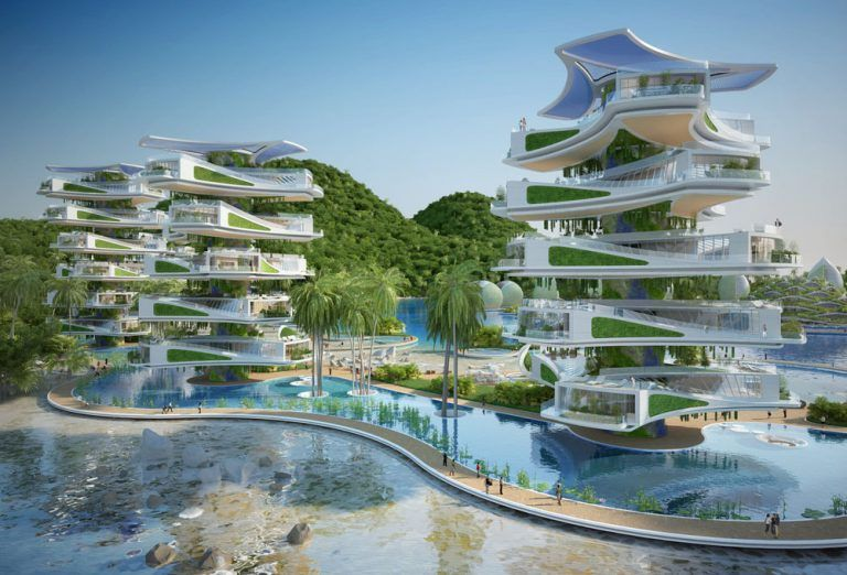 Beautiful Concept Eco Tourism Resort In The Philippines Resort