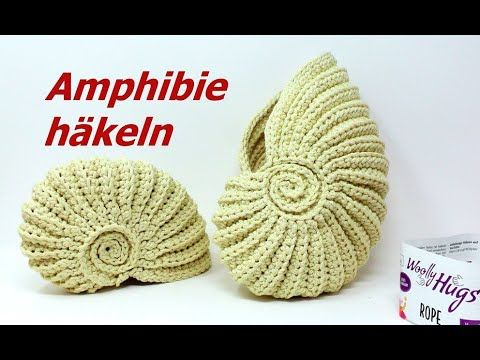Photo of Ammonite crochet with ROPE from Woolly Hugs