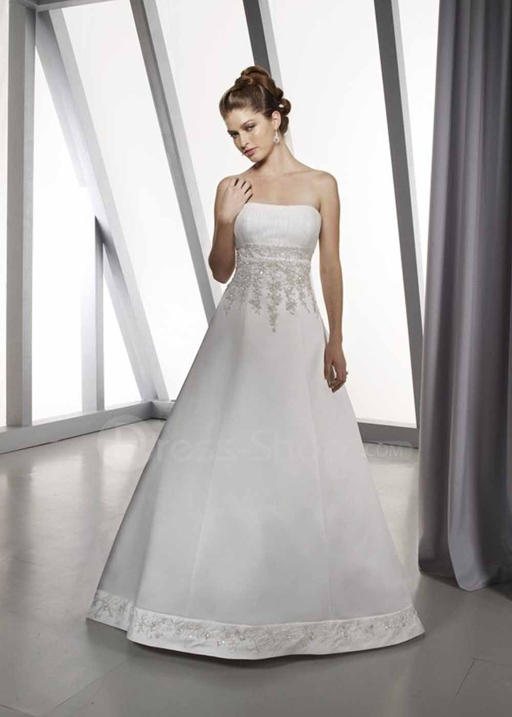 A Line Wedding Gown Elana Walker Presents The Art Of I Do Empire Waist Gowns