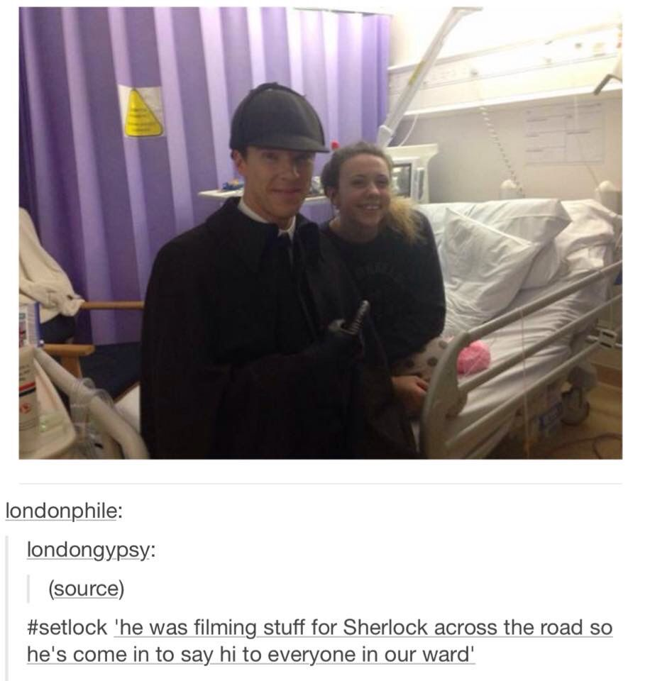 THIS is why I love Benedict Cumberbatch