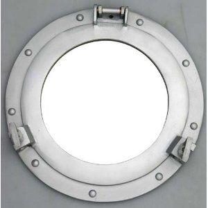 11 Aluminum Porthole Mirror