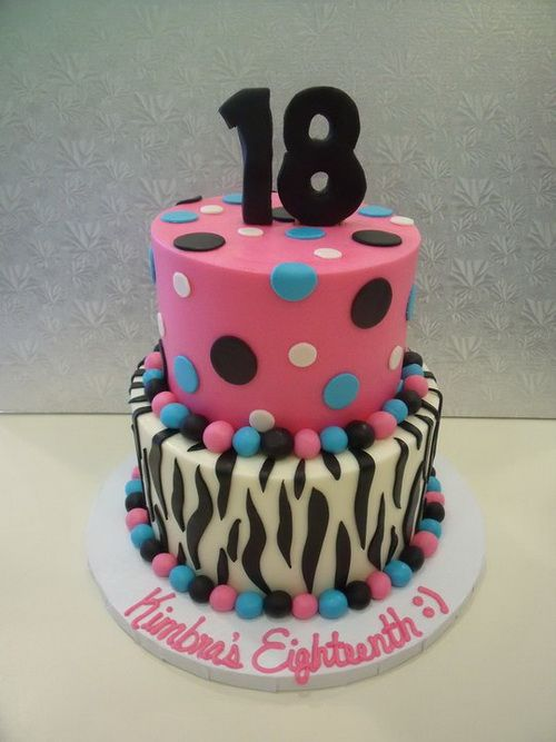 Cake Decoration For 18th Birthday : 18th birthday cake pinterest Birthday Cakes Pinterest ...