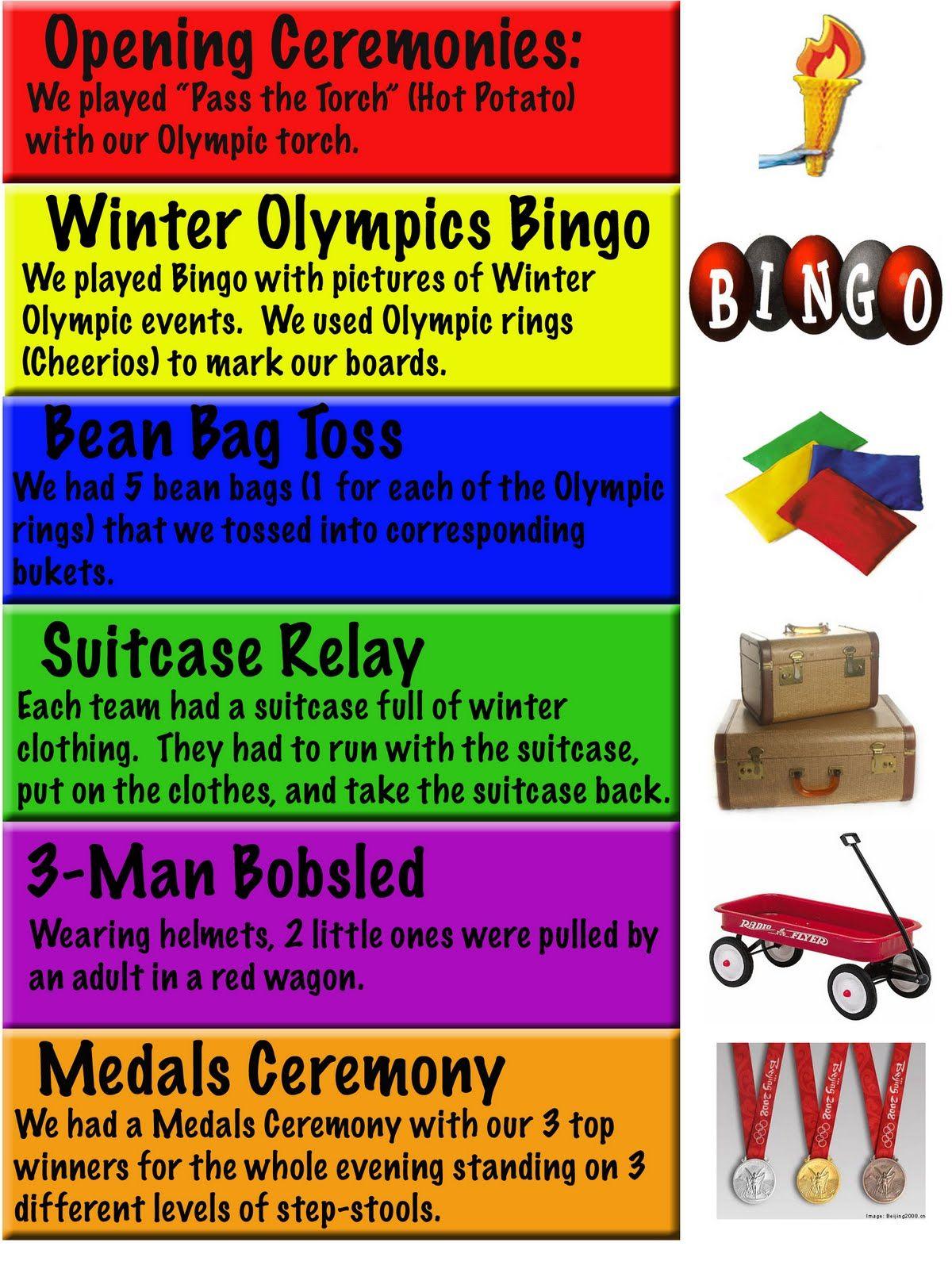 Olympics Activities