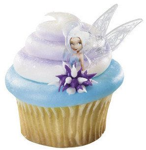 Disney Fairies Periwinkle Cupcake Rings by ABirthdayPlace on Etsy, $1.50