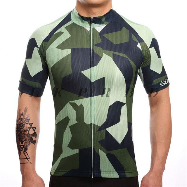 SUREA Verano Hombre Cycling Jersey Maillot ciclismo mangas cortas Camiseta de ciclistas Ropa ciclismo