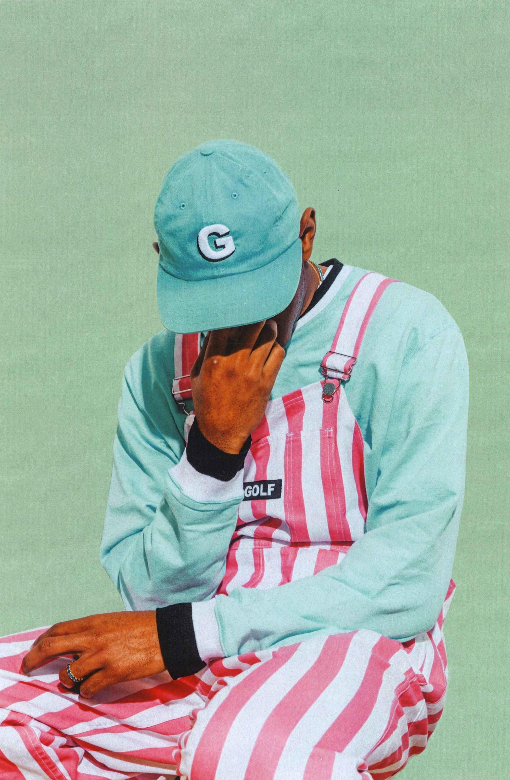 tyler, the creator made this bizarre lookbook Tyler the