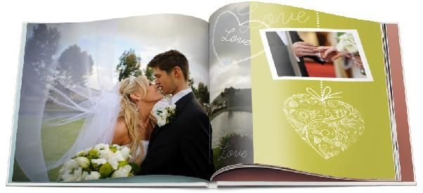 wedding book design