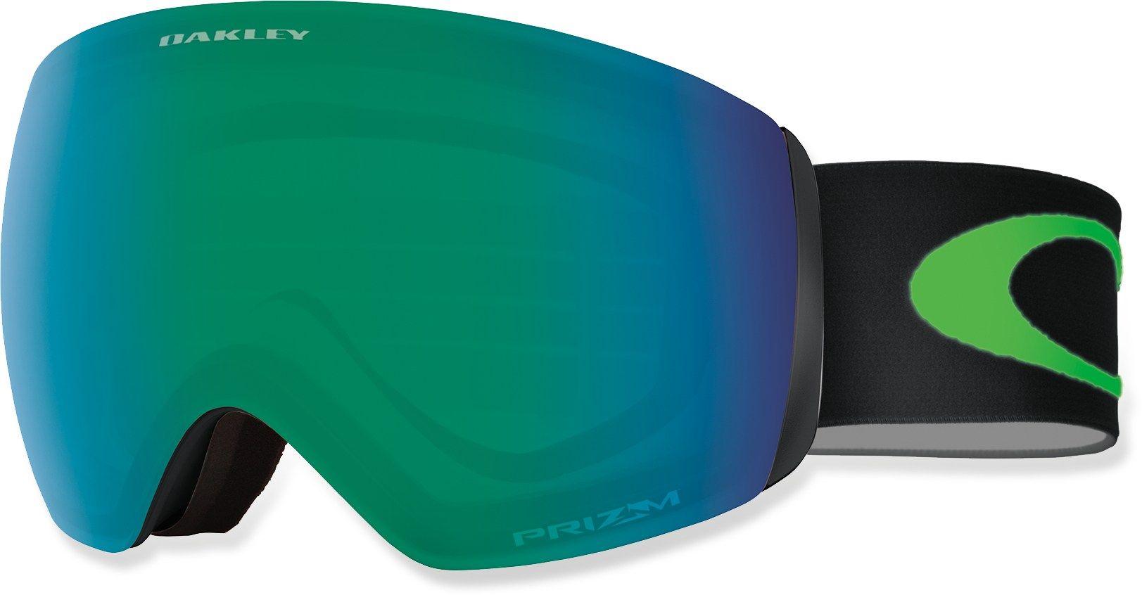 Oakley Flight Deck XM Snow Goggles Prizm Jade Iridium