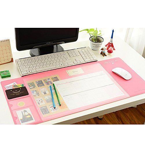 Rancco Extended Office Desk Mat Table Organizer Cute Wa Http Www Amazon Com Dp B01awrtoes Ref Cm Sw R Pi Dp Bcoqxb0t8cj7a Office Mats Desk Mat Desk Pad