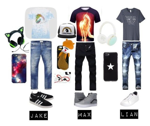 """""""unicorn believe"""" by julia-costa-jc ❤ liked on Polyvore featuring Scotch & Soda, adidas Originals, Vans, Original Penguin, Givenchy, Speck, Palm Angels, Dsquared2 and Kate Spade"""