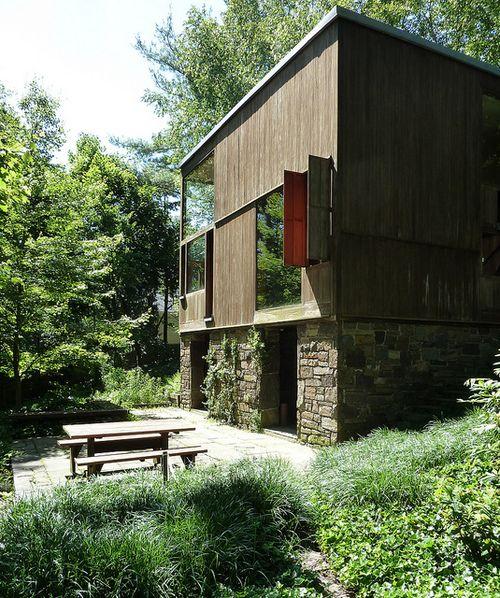 Norman and Doris Fisher House in Hatboro, Pennsylvania...