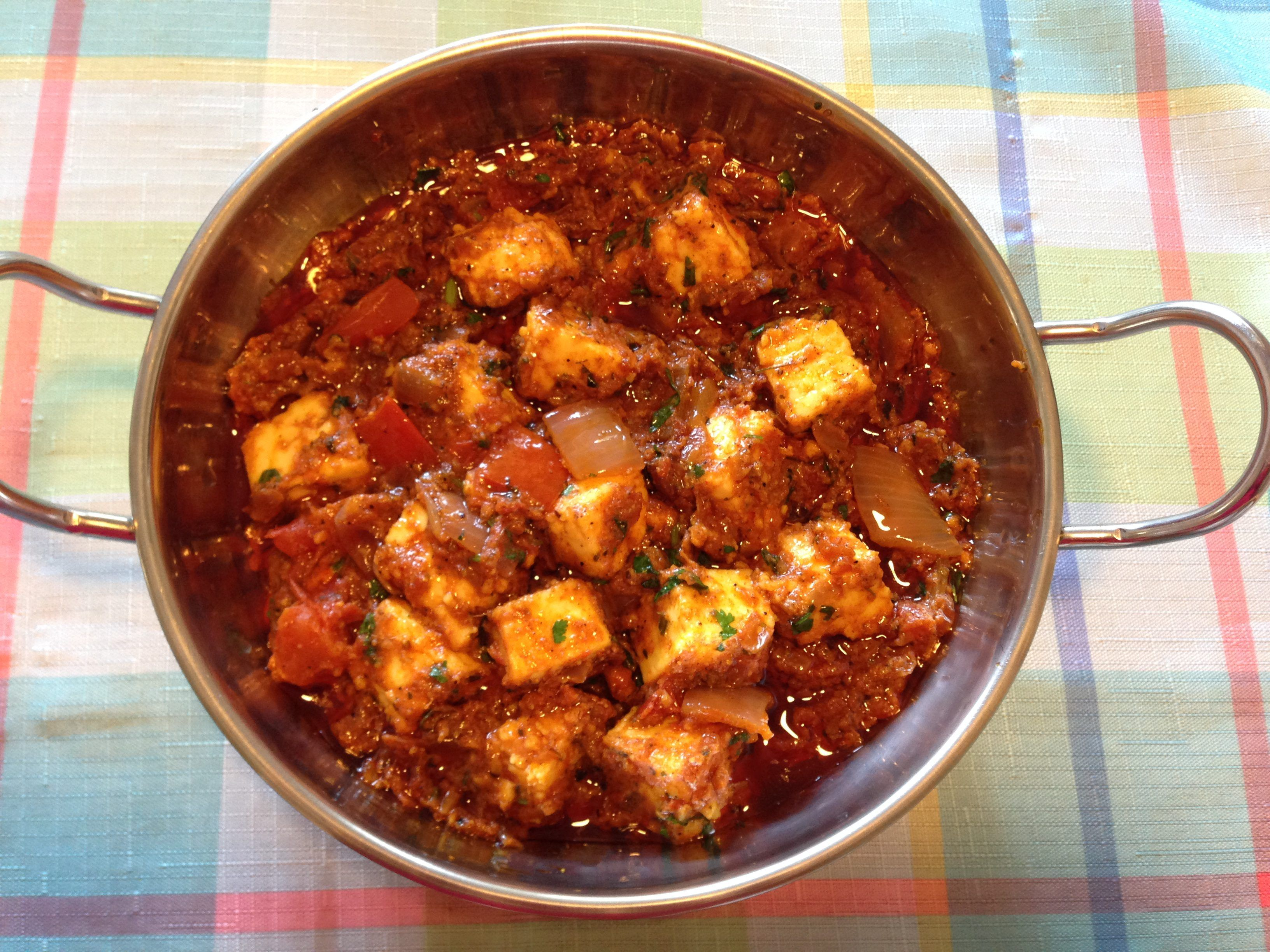 Kadai Paneer Is Dish Gets Its Name From Kadai, An Indian Wok, Which Is