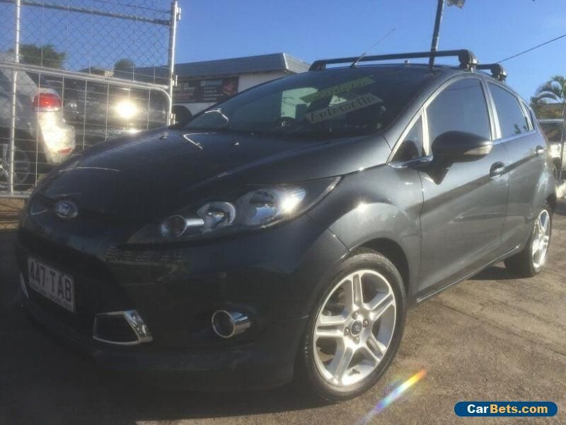 Car For Sale 2013 Ford Fiesta Wt Zetec Gunmetal Grey Automatic