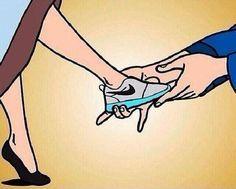 Cinderella tennis shoes   Frases de