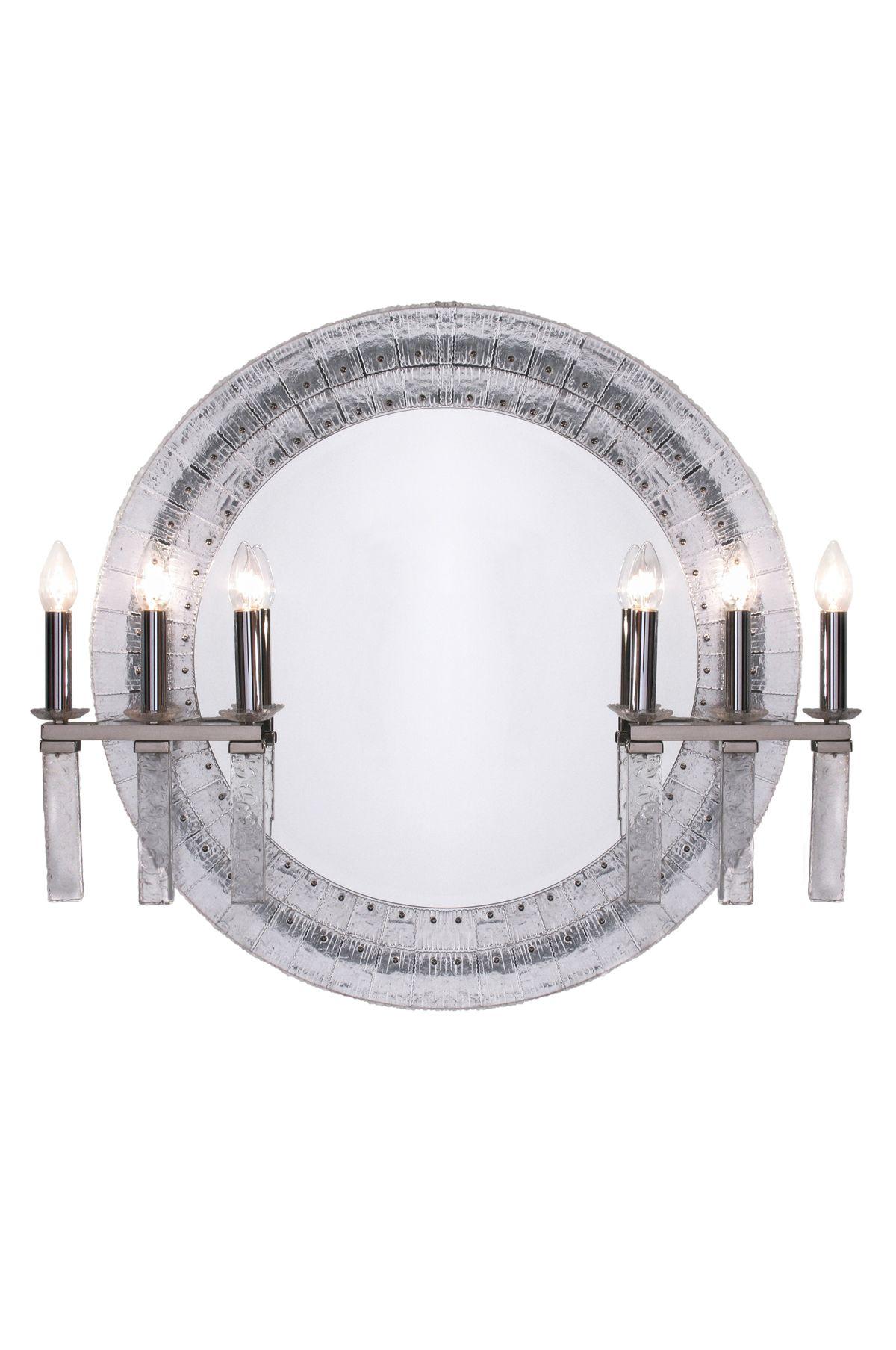 Encadrement r alis par une rang e de plaques de verre for Argenture miroir