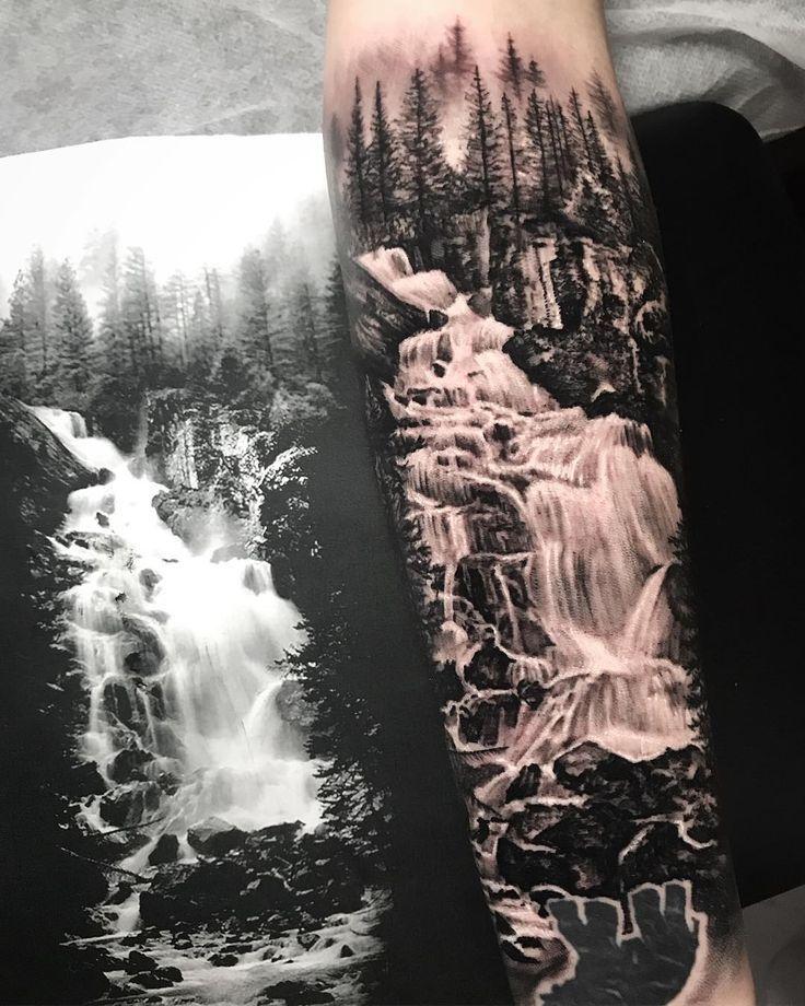 Photo of Kleiner Wasserfall auf Laney Vleeskens kleinem Unterarm, danke! annie.studio Inkjecta …,  #…