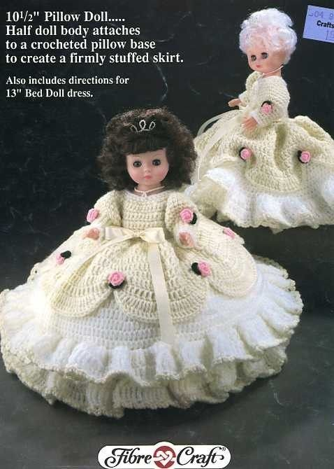 Cinderella 105 Pillow Bed Or 13 Standing Doll Crochet Pattern