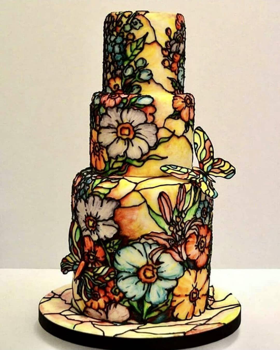 Cake art lookbook on instagram when is art this