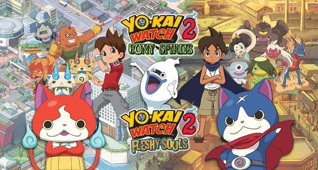 Yo-Kai Watch 2  Bony Spirits  amp  Fleshy Souls Decrypted 3DS ROM Download 99cc4909cd